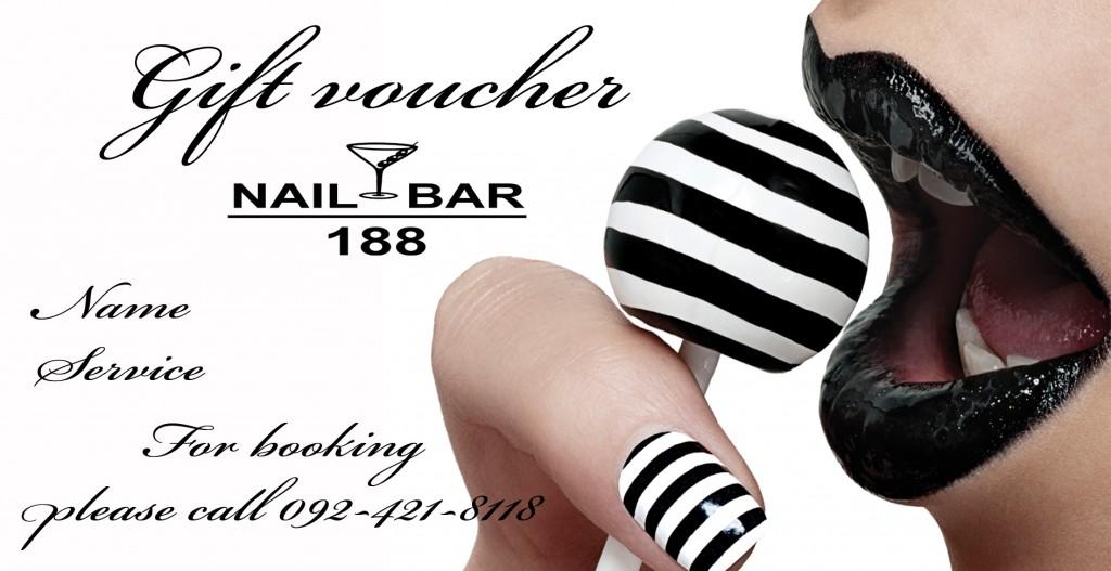 Nail Bar Gift Voucher